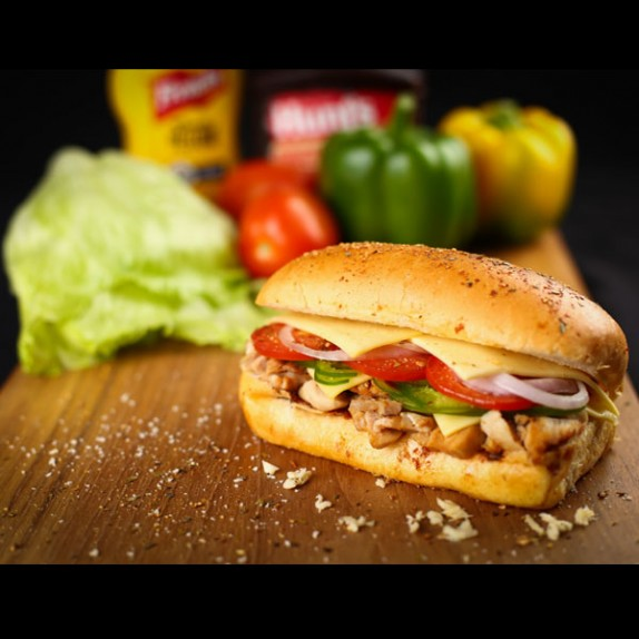 Chicken Teriyaki Sub Sandwich